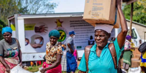 Providing Food Assistance with WFP