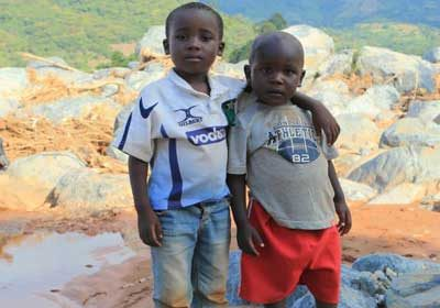 Faces and stories from Cyclone Idai