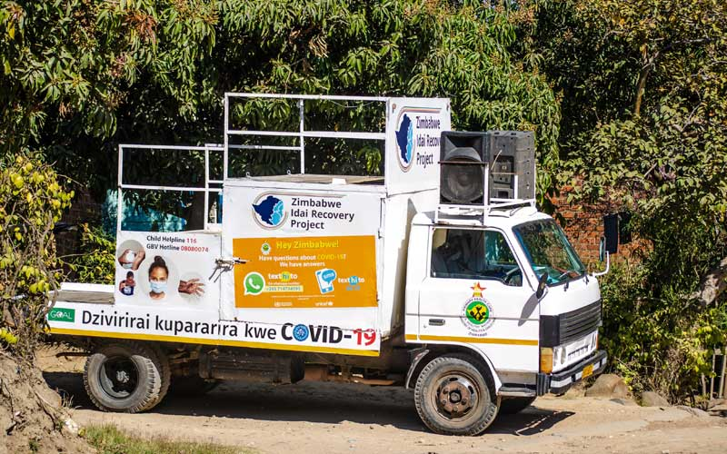 COVID-19 prevention messaging through Mobile Units